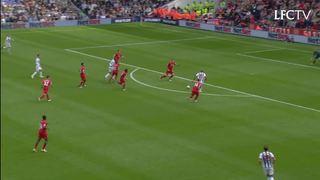 Cuplikan 90 detik West Brom 1-1 Liverpool