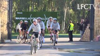 Sesi latihan khusus LFC di Marbella