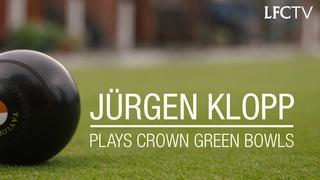 Wajib tonton! Jürgen Klopp bermain crown green bowls