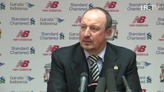 Konferensi pers Rafa pasca Liverpool vs. Newcastle