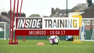 Inside Training: นักเตะลิเวอร์พูลเตรียมความพร้อม ก่อนเกมคริสตัล พาเลซ