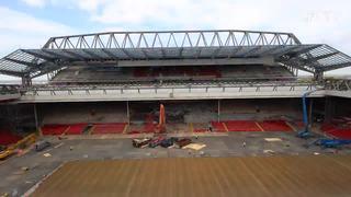 Perkembangan terbaru pembangunan Main Stand Anfield