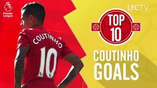 Top 10: Gol terbaik Coutinho di Premier League