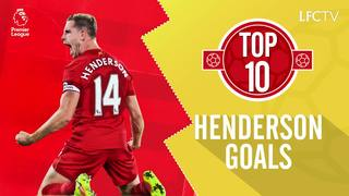 Top 10: Gol-gol terbaik Henderson