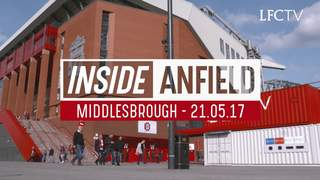 Inside Anfield: ลิเวอร์พูล V มิดเดิลสโบรห์