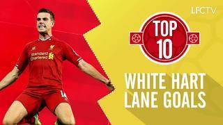 Top 10: Gol Liverpool di White Hart Lane
