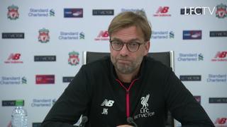 EFL Cup: Konferensi pers Klopp jelang tandang ke Southampton