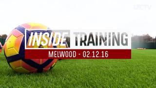 Latihan menjaga bola dan operan cepat jelang vs Bournemouth