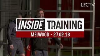 Inside Training: นักเตะลิเวอร์พูลลงฝึกซ้อมช่วงเย็น