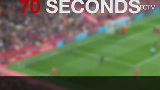 34 tembakan vs Hull dalam 70 detik