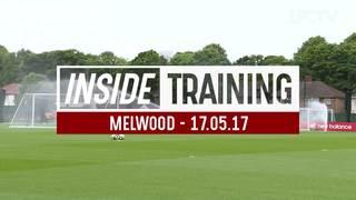 Inside Training: นักเตะลิเวอร์พูลฝึกซ้อม ก่อนเกมสุดท้ายของฤดูกาลนี้