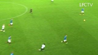 Empat gol LFC U18 ke gawang Rangers