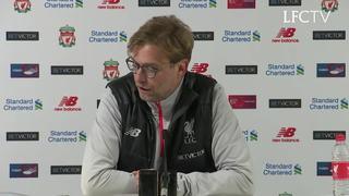 Konferensi pers Klopp pasca lawan Southampton di Anfield