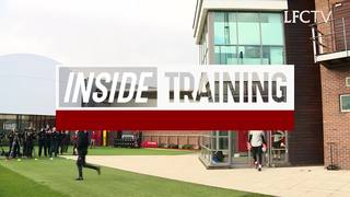 Inside Training: นักเตะเตรียมความพร้อมก่อนเกมแมนฯ ซิตี้ ค่ำคืนนี้
