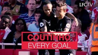 Semua gol Coutinho untuk LFC sejauh ini