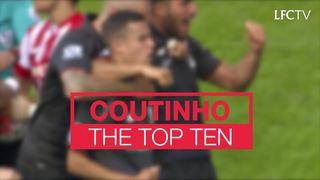 Philippe Coutinho: 10 gol terbaiknya untuk LFC