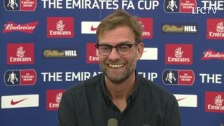 Konferensi pers Klopp sebelum lawan West Ham