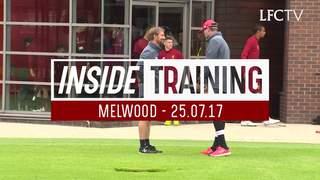 Inside Training: การฝึกซ้อมครั้งแรกของโรเบิร์ตสัน l การกลับมาของชาน และมาเน่