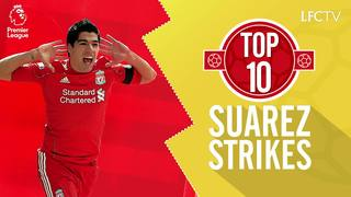 Top 10: Gol-gol terbaik Suarez untuk LFC di Premier League