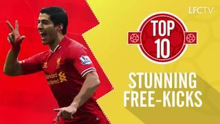 Top 10: Tendangan bebas menakjubkan