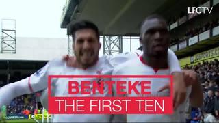 10 gol pertama Benteke untuk LFC