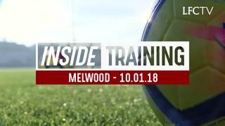 Inside Training: นักเตะลิเวอร์พูลลงซ้อมก่อนเกมแมนฯ ซิตี้