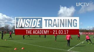Inside Training: สตีเวน เจอร์ราร์ด ร่วมฝึกซ้อมที่อะคาเดมี