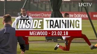 Inside Training: นักเตะลิเวอร์พูลฝึกซ้อม เตรียมพร้อมก่อนเกมเวสต์แฮม