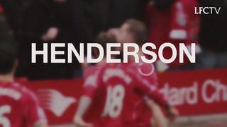 Lima gol terbaik Henderson di Liverpool