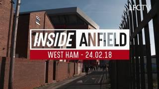 Inside Anfield: Di balik layar pertandingan LFC v West Ham