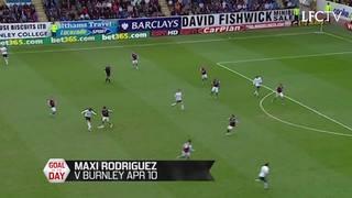 GOTD: Maxi Rodriguez jebol gawang Burnley di Turf Moor