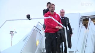 The Reds tiba di Basel