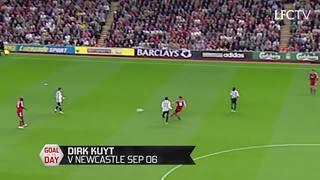 GOTD: Gol pertama Kuyt untuk Liverpool