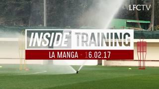 Eksklusif: Sesi latihan Liverpool di La Manga