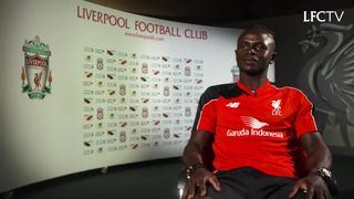 Wawancara perdana Sadio Mane