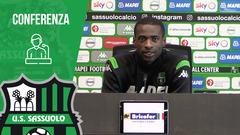 Pedro Obiang in vista di Udinese-Sassuolo