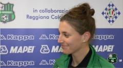 Stefania Zanoletti in vista di Pescara-Sassuolo