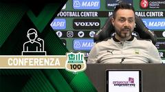 Mister De Zerbi su Sassuolo-Inter