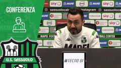 Mister De Zerbi alla vigilia di Hellas Verona-Sassuolo