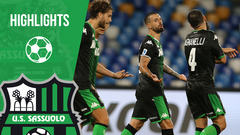 Napoli-Sassuolo 2-0 Highlights