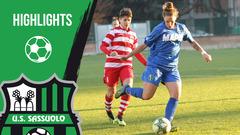 Gli highlights di Sassuolo-Florentia Femminile 0-1