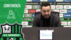 Mister De Zerbi prima di Sassuolo-Lazio