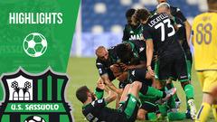 Sassuolo-Hellas Verona 3-3 Highlights
