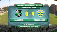 Highlights Sassuolo-Tavagnacco 0-4