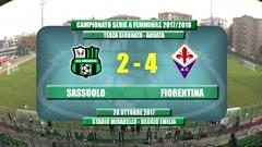 Highlights Sassuolo-Fiorentina 2-4