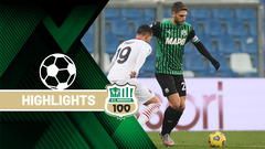 Sassuolo-Milan 1-2 Highlights
