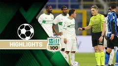 Inter-Sassuolo 2-1 Highlights