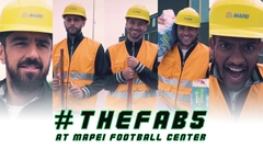 #TheFab5 at Mapei Football Center | Backstage