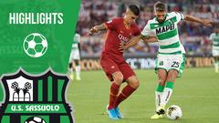 Roma-Sassuolo 4-2 Highlights