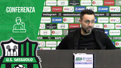 Mister De Zerbi alla vigilia di Sassuolo-Roma